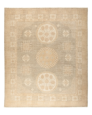 Solo Rugs Khotan Lunar Hand-Knotted Area Rug, 8'1 x 9'7