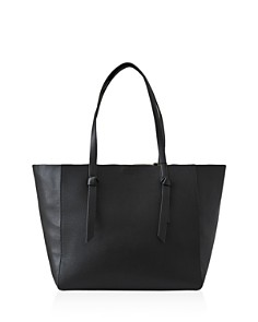 REISS - Kate Knotted Leather Tote