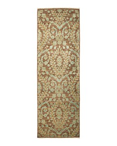"""Solo Rugs - Eclectic Portia Hand-Knotted Area Rug, 3'1"""" x 9'7"""""""