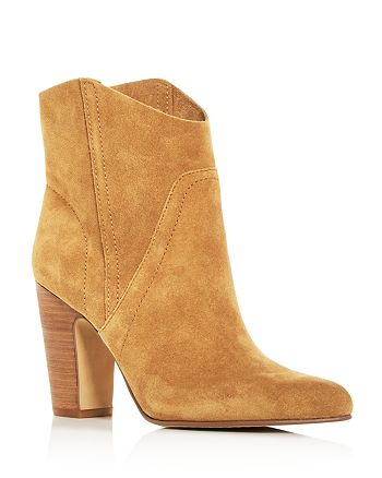 VINCE CAMUTO - Women's Creestal Pointed-Toe High-Heel Booties