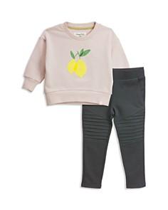Sovereign Code - Girls' Emery + Harley Sweatshirt & Moto Pants Set - Baby