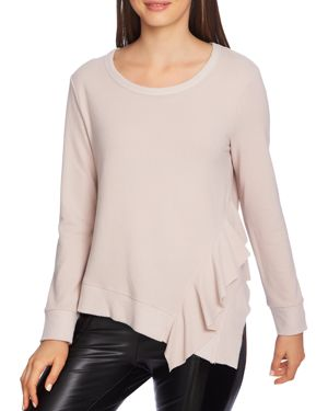 Image of 1.state Asymmetric Ruffle-Trim Top
