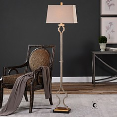 Uttermost - Vincent Gold Floor Lamp