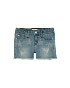 Hudson - Girls' Celestina Studded Denim Shorts - Big Kid