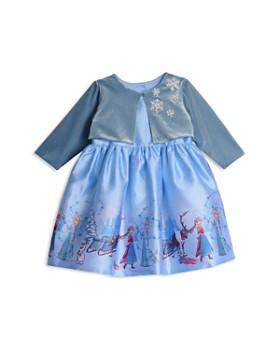 Pippa & Julie - Disney Girls' Frozen Snowflake Bolero Jacket & Fit-and-Flare Dress Set - Little Kid, Big Kid