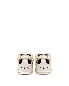 Freshly Picked - Girls' Metallic Leather Mary Jane Moccasins - Baby