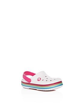 Crocs - Girls' Classic Clogs - Walker, Toddler, Little Kid