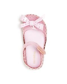 Mini Melissa - Girls' Mini Furadinha XI Mary-Jane Flats - Baby, Walker, Toddler