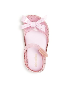 Mini Melissa - Girls' Mini Furadinha XI Mary-Jane Flats - Baby, Walker, Toddler