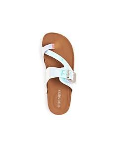 STEVE MADDEN - Girls' JWaive Slide Sandals - Toddler, Little Kid, Big Kid