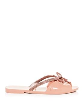 Melissa - Women's Ela Chrome Slide Sandals