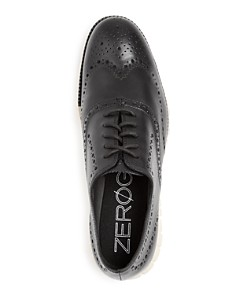 Cole Haan - Men's ZeroGrand Leather Wingtip Oxfords
