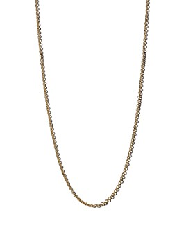Zoë Chicco - 14K Yellow Gold Tiny Cable Chain, 18""