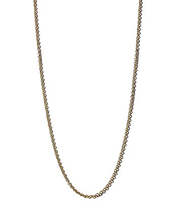 """Zoë Chicco - 14K Yellow Gold Tiny Cable Chain, 18"""""""