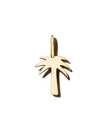 Zoë Chicco - 14K Yellow Gold Midi Bitty Palm Tree Charm