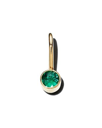 Zoë Chicco - 14K Yellow Gold Emerald Charm