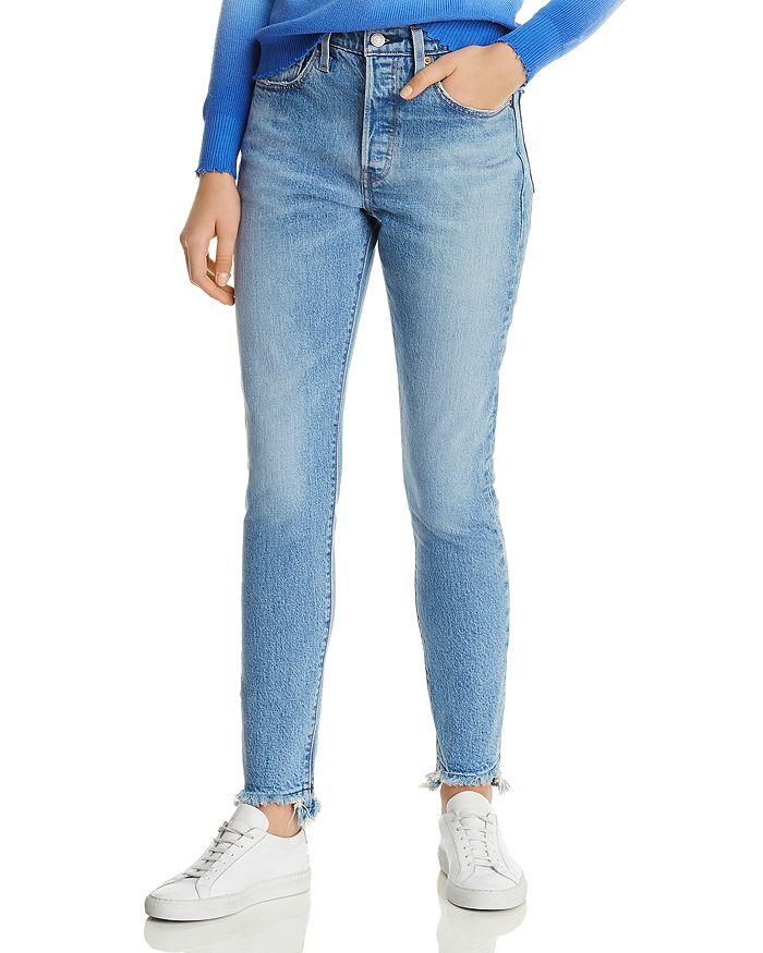 f283210c27d Levi's 501 Skinny Jeans in Blue Mark | Bloomingdale's