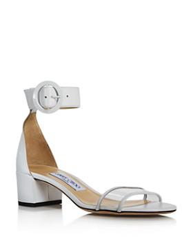 Jimmy Choo - Women's Jaimie 40 Block Heel Sandals