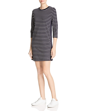 French Connection Tim Tim Striped T-Shirt Dress