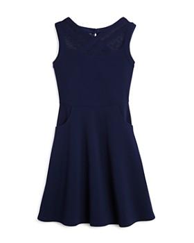 86785357cea8ed US Angels - Girls  Crisscross Illusion Dress