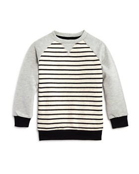 Mini Series - Boys' Striped Crewneck Sweatshirt, Little Kid - 100% Exclusive