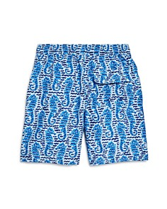 Vineyard Vines - Boys' Seahorse Waves Chappy Swim Shorts - Little Kid, Big Kid
