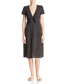 Re:Named - Faith Floral-Print Midi Dress