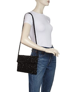 AQUA - Evie Beaded Shoulder Bag - 100% Exclusive