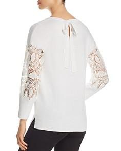 Kobi Halperin - Katharina Lace-Sleeve Sweater