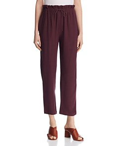 Eileen Fisher - Cropped Paperbag Pants