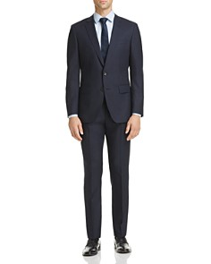 BOSS - Micro-Check Huge/Genius Slim Fit Suit