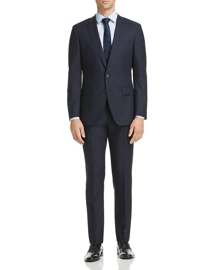 BOSS - Micro-Check Huge/Genius Slim Fit Suit