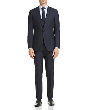 Boss Micro-Check Huge/Genius Slim Fit Suit