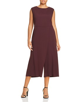 d048c375029 Eileen Fisher Plus - Overlay Wide-Leg Jumpsuit ...
