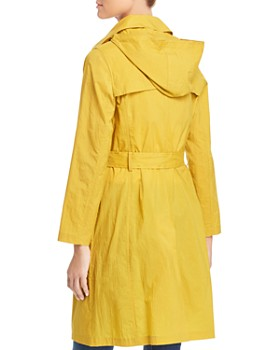 Jane Post - Crinkled Trench Coat