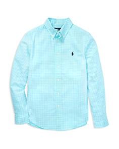 Ralph Lauren - Boys' Gingham Sport Shirt - Big Kid