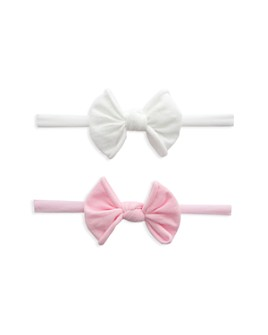 Baby Bling - Girls' Mini-Bow Stretch Headband, Set of 2 -100% Exclusive