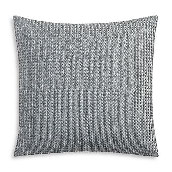 """Hudson Park Collection - Embroidered Tile Decorative Pillow, 18"""" x 18"""" - 100% Exclusive"""