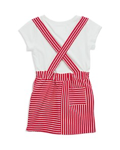 Sovereign Code - Girls' Siciliy Tee & Overall Skirt Set - Little Kid, Big Kid