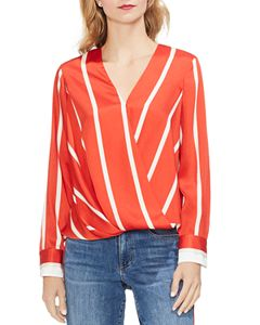 7e615ed3635dd3 BCBGENERATION Metallic-Star Tie-Front Top | Bloomingdale's