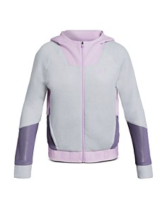 Under Armour - Girls' Unstoppable Move Lite Full-Zip Hoodie - Big Kid
