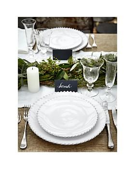 Costa Nova - White Pearl Salad Plate