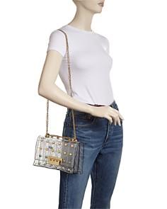 ZAC Zac Posen - Earthette Pearl Lady Clear Convertible Shoulder Bag