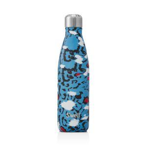 S'well Azure Leopard Bottle, 17 oz.