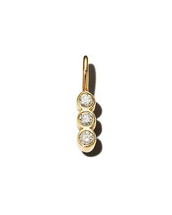 Zoë Chicco - 14K Yellow Gold Diamond Charm Pendant