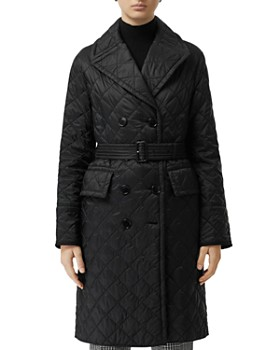 cfc8ca23c67e Burberry - Double-Breasted Quilted Trench Coat ...