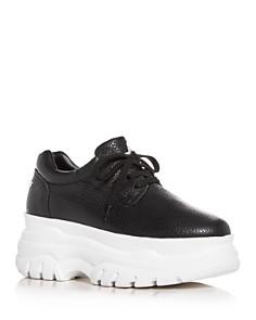 Joshua Sanders - Women's Low-Top Platform Sneakers