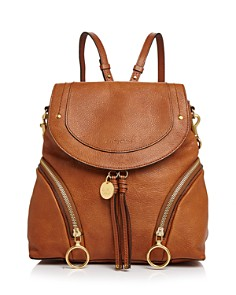 See by Chloé - Olga Large Leather Backpack