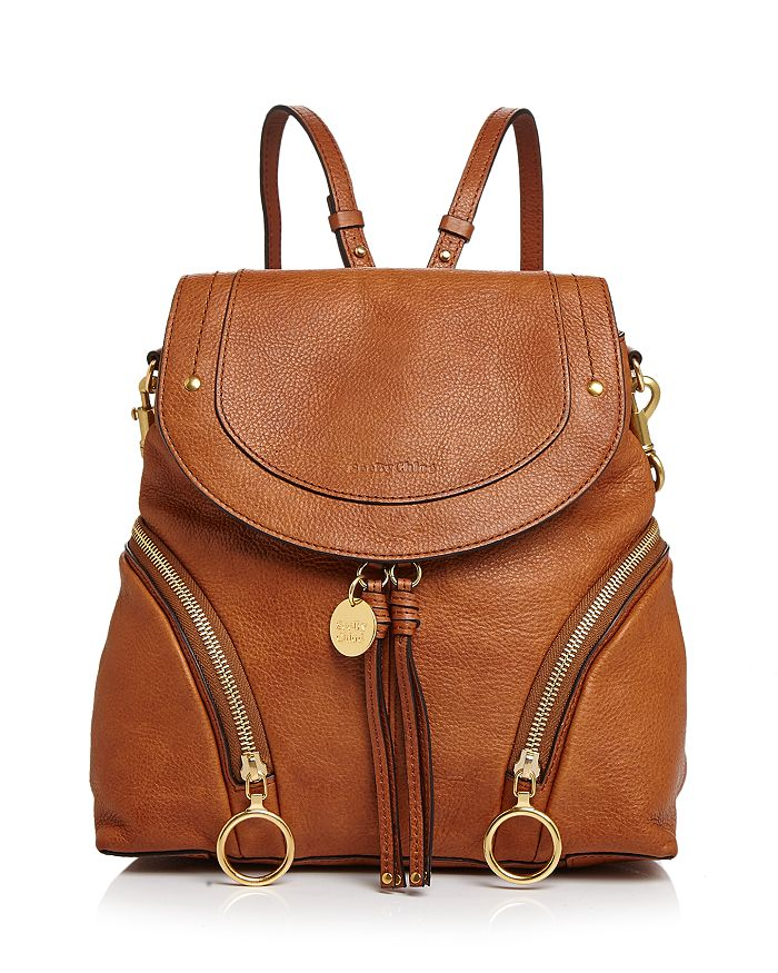 See by Chloé - Olga Large Leather Backpack f864c9164ceea