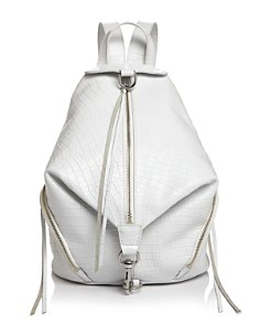 Rebecca Minkoff - Julian Croc-Embossed Leather Backpack